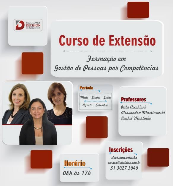 Curso de Extensão – Formação em Gestão de Pessoas por Competências